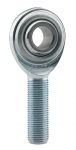 "3/8"" LH MALE STEEL ROD END"