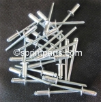 "ALUMINUM 3/16"" POP RIVET - PKG 25"